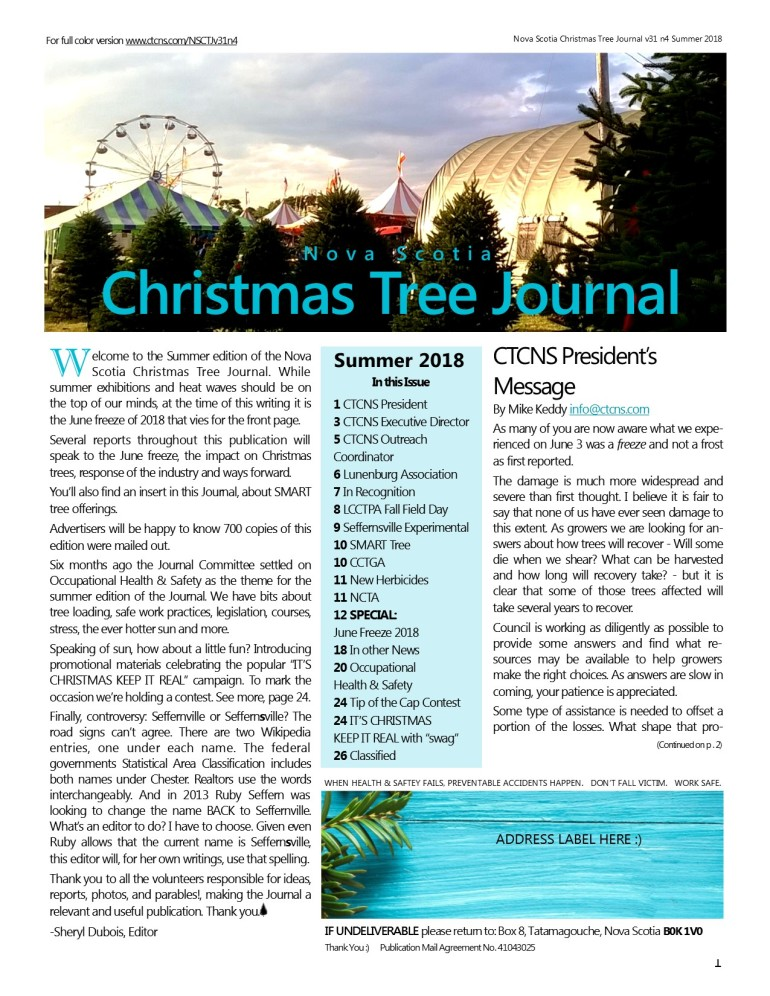 NSCTJournal v31 n4 Summer 2018