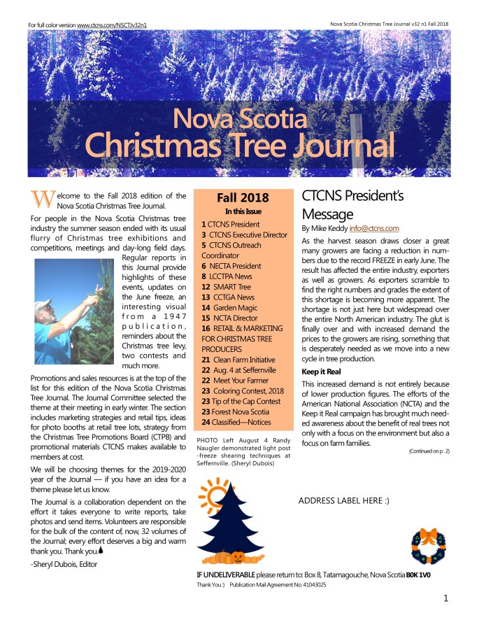NSCTJournal v32 n1 Fall 2018 DIGITAL COLOR