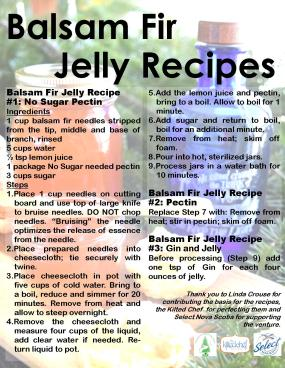 Ad for Jelly recipe with recipes