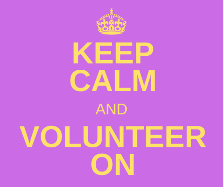 Keep Calm and Volunteer On